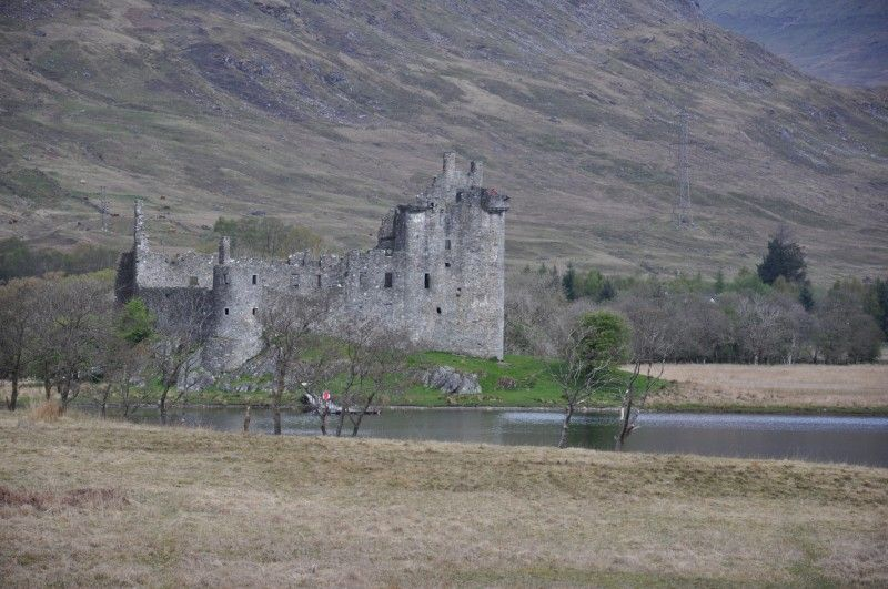 Kilchurn Castle in Loch Awe